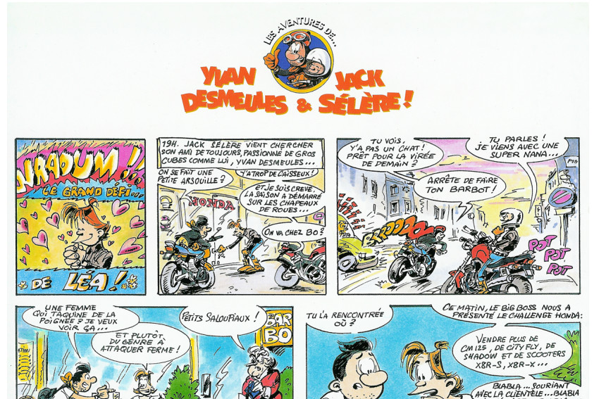 honda-bande-dessinee-corine-malaquin-conception-redaction-lyon